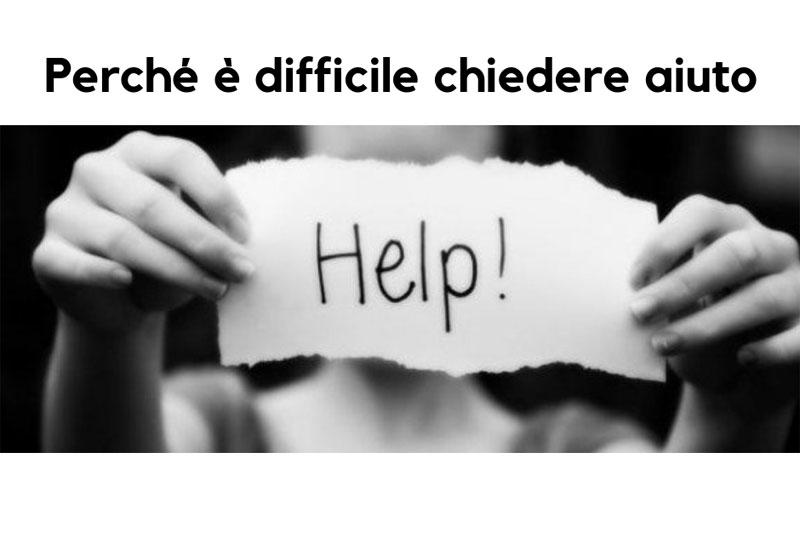 chiedere aiuto ad uno psicologo